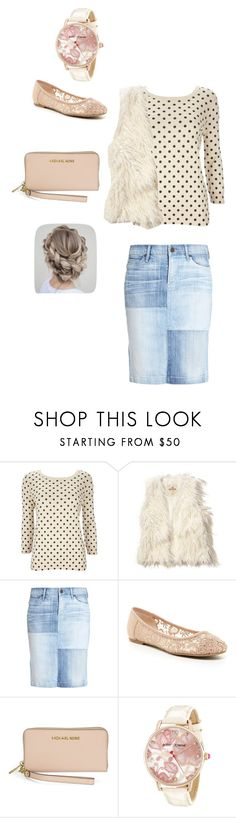 """""""Fall outfit"""" by pentecostalgirl1234 ❤ liked on Polyvore featuring Wallis, Hollister Co., Citizens of Humanity, ZiGiny, Michael Kors and Betsey Johnson"""