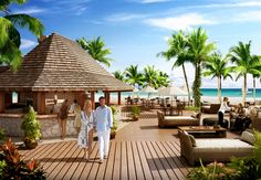 Beachside pizzeria #sandals #barbados #caribbean #romance #luxury #honeymoon #couples