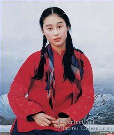 chen yifei   ... chinoises>Chen Yifei>4zg053cD128 peintres chinoises Chen Yifei