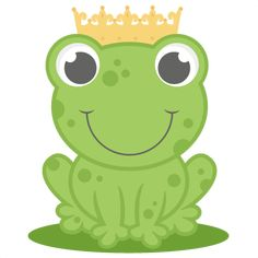 Frog Prince SVG cutting file for cricut princess svg cut file scut files scal cute cut files for cricut