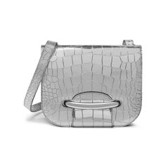 9d3a869194b Shop the Selwood in Mirror Croc Leather at Mulberry.com. The Selwood is a