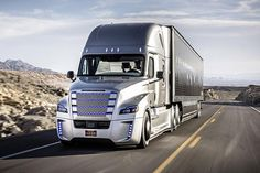 See What It's Like to Ride in Daimler's Self-Driving Freightliner Truck