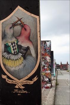 FREEDOM PARK ♦ Berlin Wall by URBAN ARTefakte, via Flickr