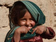 smile from Herat, Afghanistan