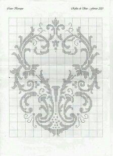 This Pin was discovered by Nil Cross Stitch Heart, Cross Stitch Borders, Cross Stitching, Cross Stitch Embroidery, Embroidery Patterns, Cross Stitch Patterns, Filet Crochet Charts, Crochet Cross, Knitting Charts