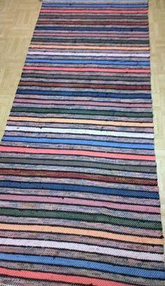Scandinavian Style, Woven Rug, Pattern Design, Recycling, Weaving, Area Rugs, Textiles, Board, Crochet Carpet