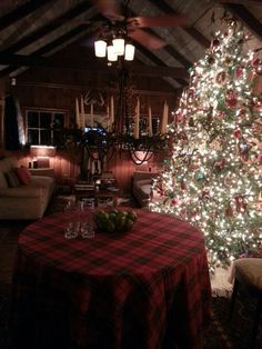 Holiday Cabin Chic ... Highlands NC Mark Hamm