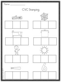 FREE stamping pages