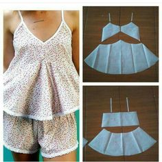 Sleep wear top pattern Order via line : (with modellistepattern sleepwear sleepwearpattern bajutidur polabajutidur *been so busy lately but we are Fashion Sewing, Diy Fashion, Ideias Fashion, Diy Clothing, Sewing Clothes, Dress Sewing Patterns, Clothing Patterns, Sewing Lingerie, Top Pattern