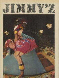 This magazine ad for Jimmy'z Clothing from 1988 features Christian Hosoi. Old School Skateboards, Vintage Skateboards, Skate Style, Surf Style, Skate And Destroy, Z Boys, Skater Boys, Summer Surf, Skate Surf