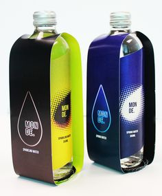 WATER BOTTLE - package design by Raina Kim, via Behance
