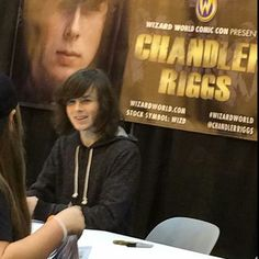 Chandler Riggs at <b>Wizard World Comic Con 2016</b>!<br />