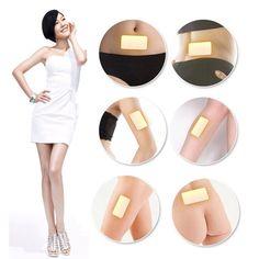10Pcs/Bag Trim Pads Slim Patches Slimming Fat Loss Weight Burn Fat Detox