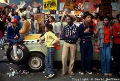 Notting Hill Carnival August 1979.