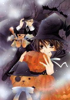 Misaki and Usagi Halloween