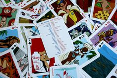 54 intercontinental Cuties Playing Cards from Josh Cooley & Bill Presing (Storyboard artists with Pixar) $25