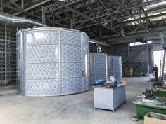 Nuovo impianto di aspirazione polveri in Russia con filtri autopulenti e a bassa manutenzione, adatto agli ambienti di lavorazione estremamente polverosi.