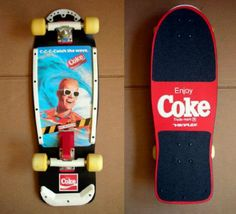 Coke Max Headroom skateboard...