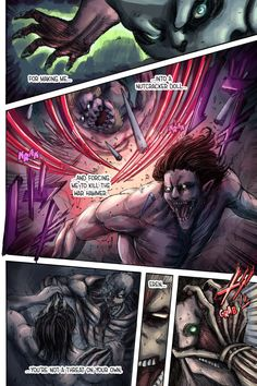You are reading Shingeki No Kyojin Colored Chapter 117 in English. Read Chapter 117 of Shingeki No Kyojin Colored manga online. Attack On Titan Series, Attack On Titan Art, Atack Ao Titan, Manga Covers, Naruto Shippuden Anime, Next Chapter, Animes Wallpapers, Character Design, Hero