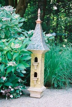 Victorian Solace Birdhouse created by Regal Roosts