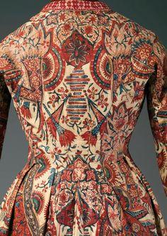 Coat (Wentke) (detail) | mid-18th century | Netherlands | Textile: India (Coromandel Coast), 1725-50