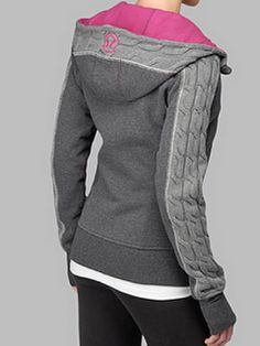 "Lululemon cable knit scuba hoodie--- put this on my ""have-to-have-it"" list!"