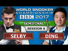 Mark Selby v Ding Junhui 丁俊暉 ᴴᴰ World Snooker Championship 2017 SF Session 4 - YouTube