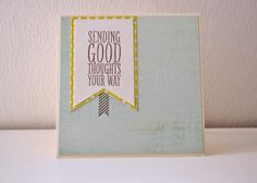 Happymade Sending good thoughts your way Stampin' Up