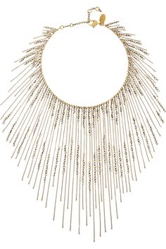 Erickson Beamon | Ballroom Dancing gold-plated Swarovski crystal necklace | NET-A-PORTER.COM