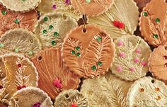 How To Make Glam Salt Dough Ornaments for Christmas — The Food-Lover's Christmas Tree