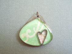 "protected heart pendant by jadescott on Etsy, $19.00 1 1/4"""