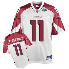2009 Super Bowl Larry Fitzgerald White NFL Jerseys Wholesale 05a6dafe5