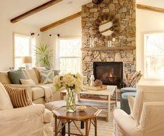 {A beach style sunroom via Simplicity Interiors}