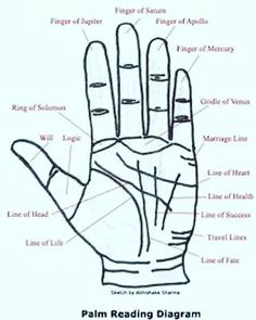 Wiccan, Magick, Witchcraft, Palm Reading Charts, Palm Reading Lines, Palm Lines, Palm Reading Right Hand, Basic Palm Reading, Pseudo Science