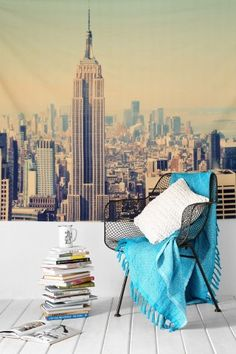 NYC Skyline Tapestry