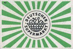Deutscher Supermarkt Identity in Logo