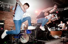 ~ Don Broco Live ~ (How does Si jump that high? Music Is My Escape, Music Stuff, Music Bands, Song Lyrics, Rock N Roll, Role Models, Songs, Workout, Concert