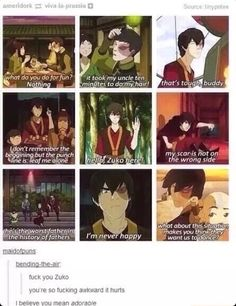 Zuko is my spirit animal.