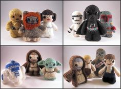 PDFs of all 14 Star Wars Mini Amigurumi Patterns. $37,00, via Etsy.