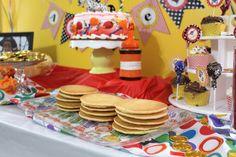 Aarlen's 3rd Birthday: Pippi Longstocking Party - Food #chicafashionblog