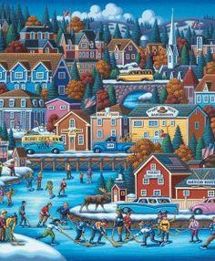 American Hockey by Eric Dowdle