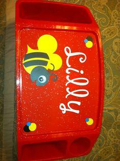 Kids activity tray $15