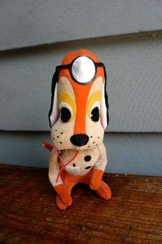Vintage Dakin Dream Pet 'M. D. Hound' dog made in Japan in the 1960's