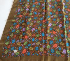 Vintage Liberty of London Silk Scarf Liberty by ProctorCreations
