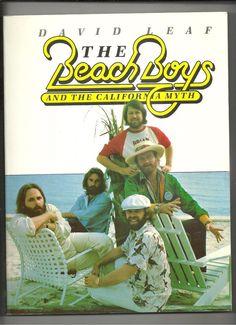 Beach Boys and the California Myth Leaf SC 1978 Brian Dennis Wilson Jardine 1st