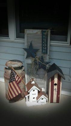 Country Porch Decor