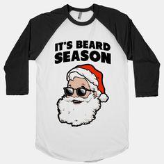 It's Beard Season (Santa)#winter #fashion #christmas #santa #cool #beards #love #holidays #awesome #style #swag