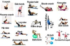 good work outs for a toned core