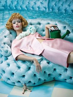 Cool Editorial photo Baby Doll - Photographer: Sandrine Dulermo & Michael Labica Publication: Stylist