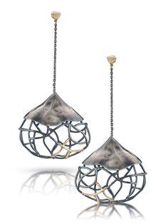 Beverly Tadeu, earrings ' Mod Pods'